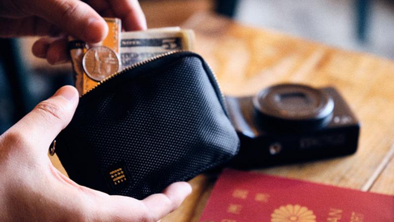 キーホルダー・カードケース・財布と1つにまとめた「忘れようがないエコバッグ」