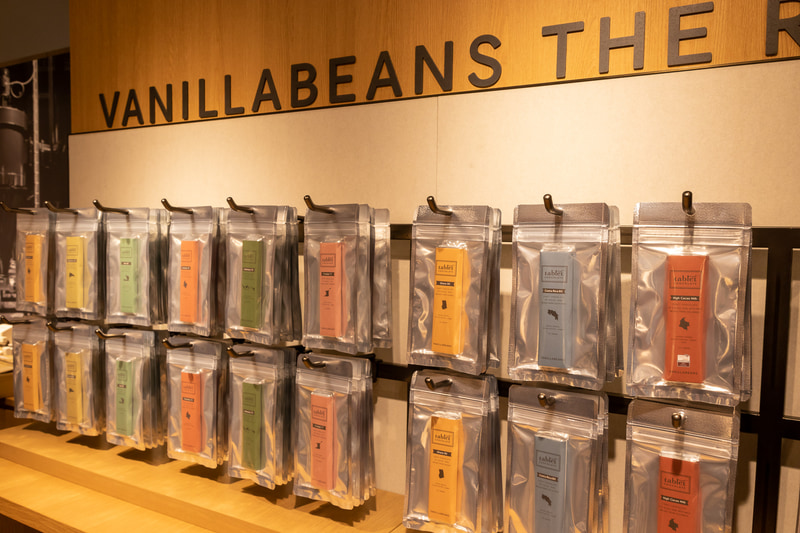 産地ごとのカカオ豆の風味が際立つ「VANILLABEANS THE ROASTERY TOKYO」