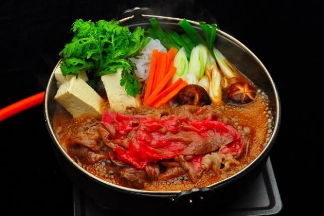 三重県・松阪牛すき焼き肉