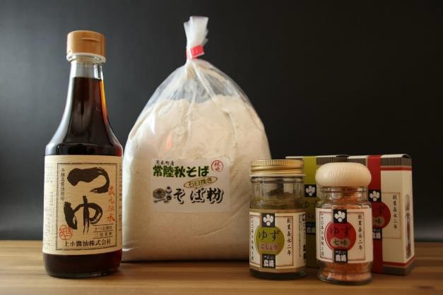 栃木県・玄挽きそば粉セット