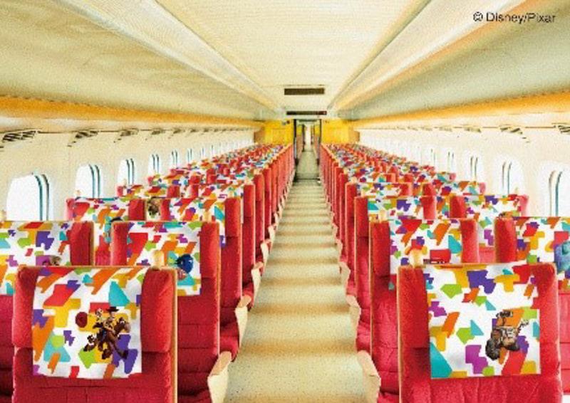 JR九州 WAKU WAKU ADVENTURE 新幹線の車内イメージ