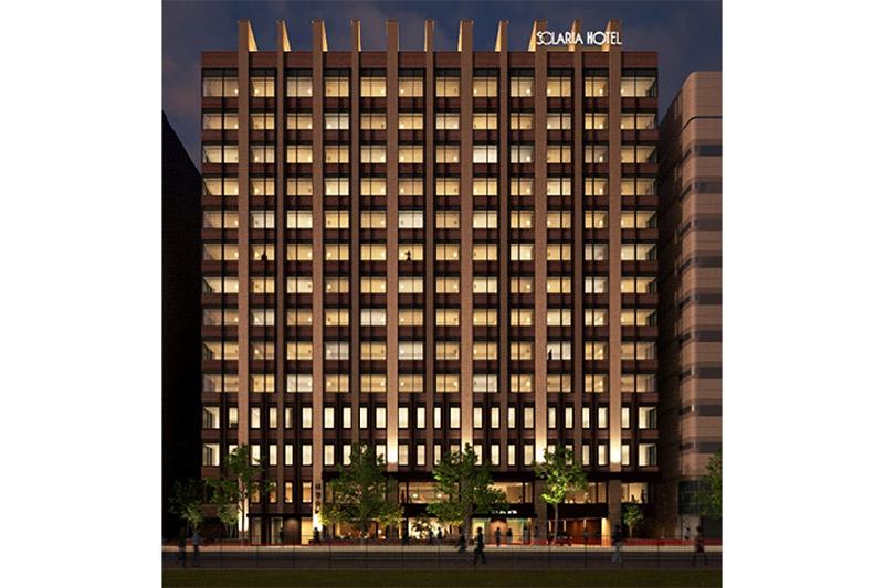 西鉄グループホテルにとって北海道初出店となる「ソラリア西鉄ホテル札幌」が2021年2月1日に開業