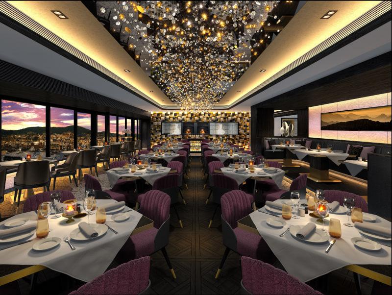 レストラン&バー「Restaurant Grand Cafe Fauchon(レストラン グラン カフェ フォション)」