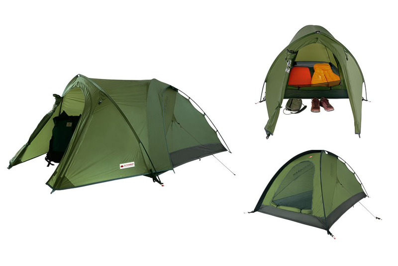 ZEROGRAMの2名用軽量テントが発売