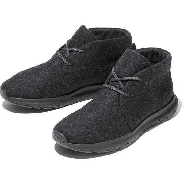 「Velocity Wool Chukka GORE-TEX Invisible Fit」ブラック