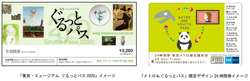 東京メトロが「メトロ&ぐるっとパス」2020年度版を発売する