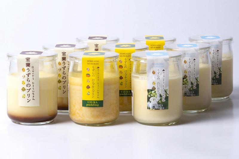 「室蘭うずら園 プリン3種×3個セット」(割引価格3971円)