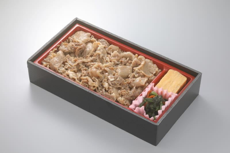 「牛めし」(1100円)