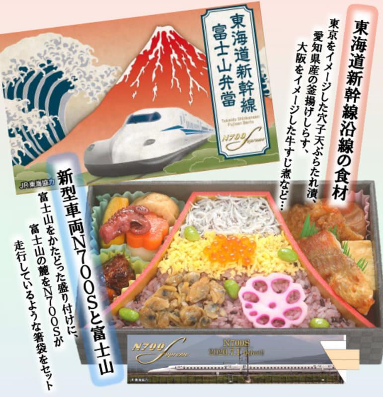 「東海道新幹線 富士山弁當」