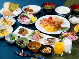 「医食同源」をテーマとした朝食ブッフェ