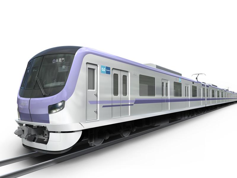 東京メトロは半蔵門線の新型車両「18000系」を2021年度上半期に投入する