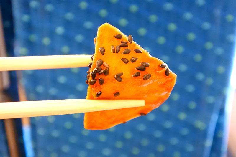 デザートは大学芋。まさに秋の味覚であるお芋で大満足に!