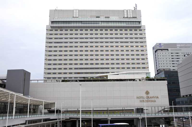 JR広島駅直結の「ホテルグランヴィア広島」