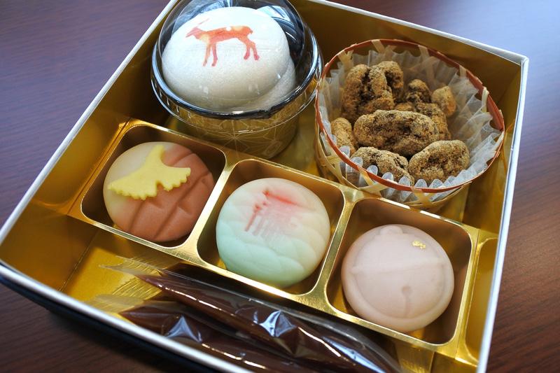 「瀬戸の小箱~和~」は上生菓子3種にお手作り最中など