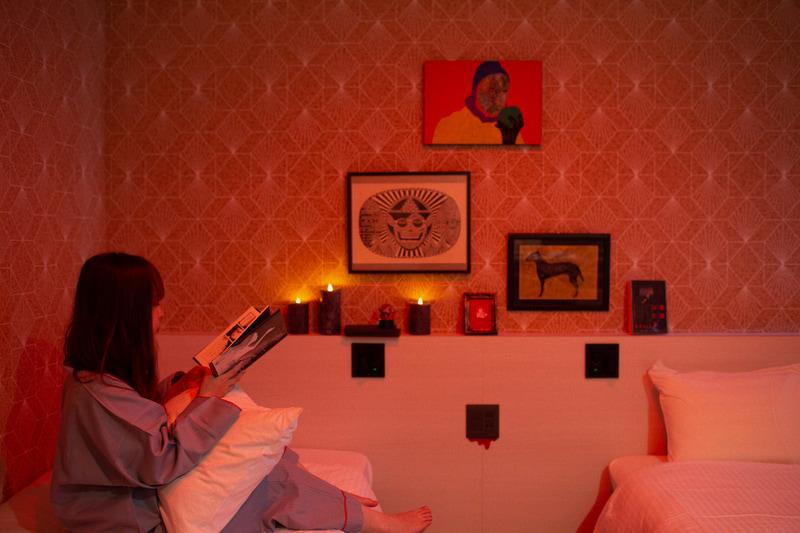 ホラーな客室