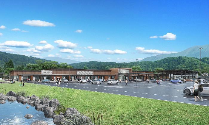 福井県大野市は道の駅「越前おおの 荒島の郷」の開業を2021年4月22日に決定した