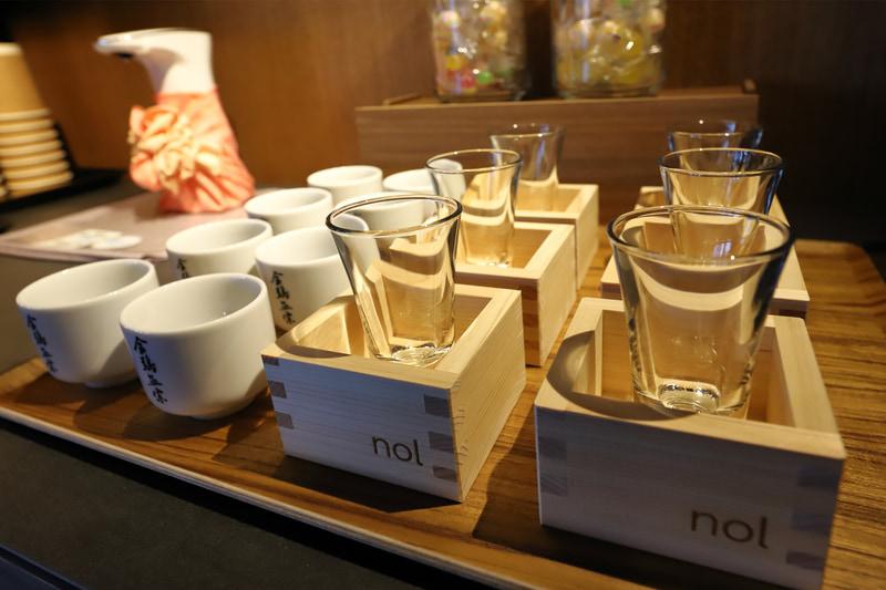 「nol kyoto sanjo オリジナル升」はホテル開業記念として持ち帰りできるそう