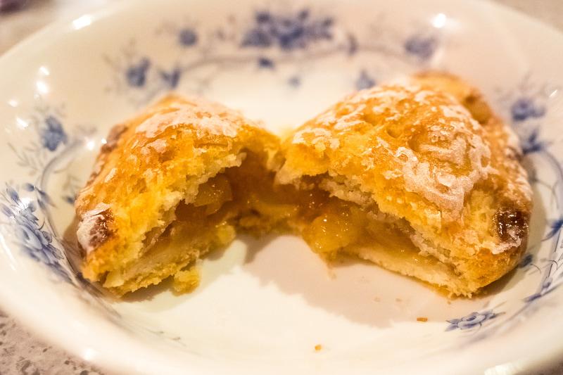 食後にぜひ食べたい自家製アップルパイ
