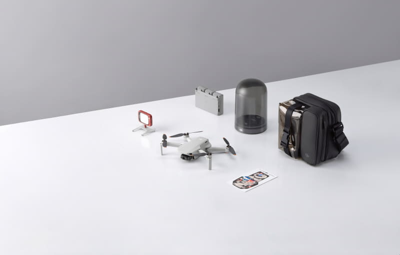 DJIのカメラドローン「DJI Mini 2」(5万9400円~)