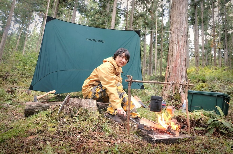 年間6万円で原野でのワイルドキャンプを楽しめる