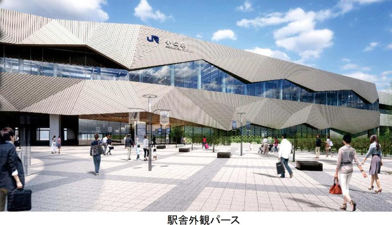 鉄道・運輸機構は北陸新幹線 小松駅の新築工事に着手する