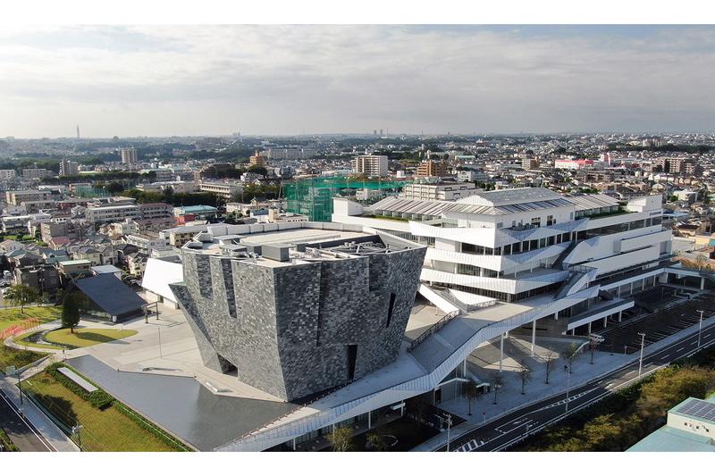 11月6日にグランドオープンした大型文化複合施設「ところざわサクラタウン」と「角川武蔵野ミュージアム」