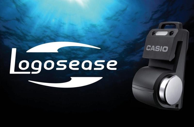 山形カシオとベルトラは水中で会話できる小型無線機「Logosease」で提携する