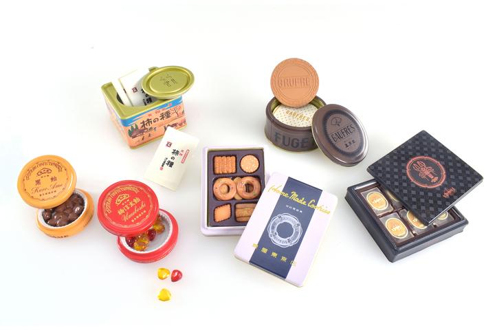 ケンエレファントは「銘菓 miniature collection」を発売する