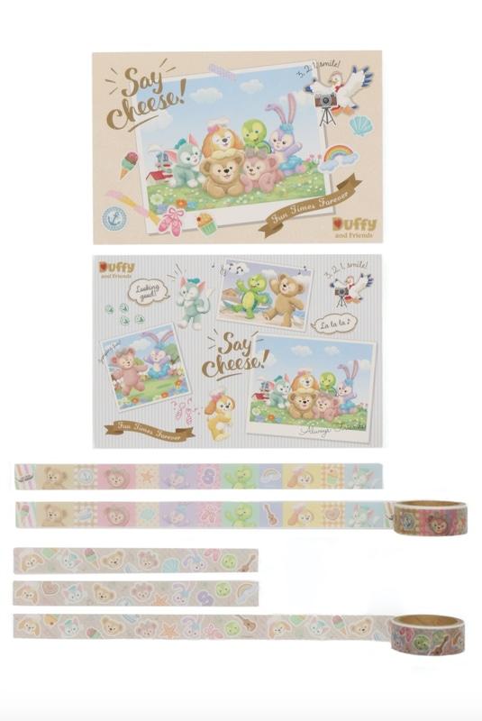 ポストカード&マスキングテープ(700円)