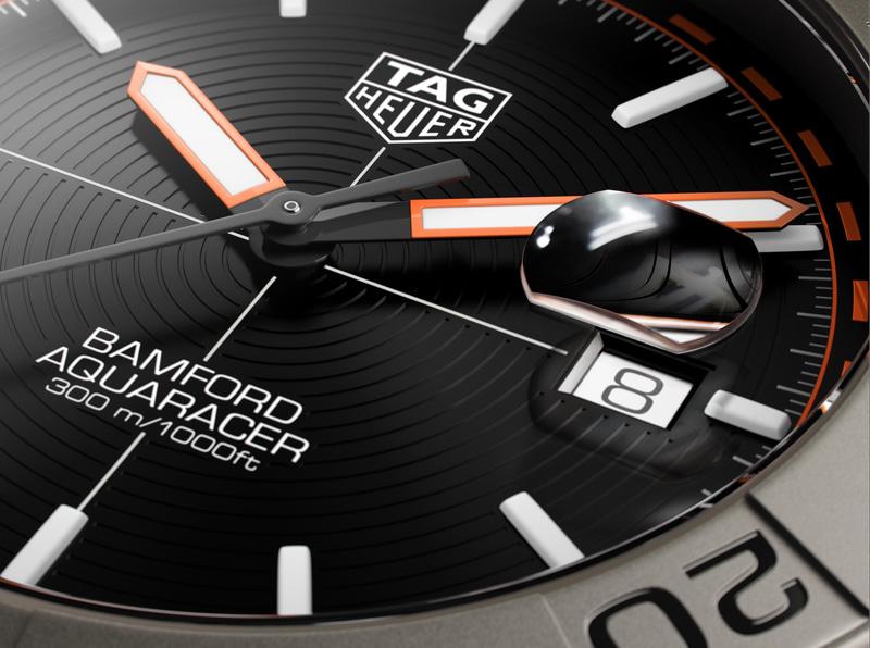 タグ・ホイヤーは「アクアレーサー バンフォード リミテッドエディション」を発売した