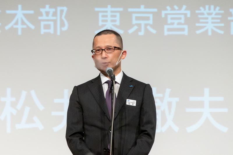 西日本旅客鉄道株式会社 営業本部 東京営業部長 松井徹夫氏