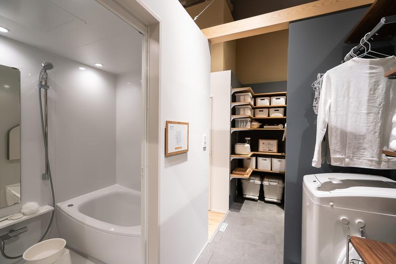 浴室と洗濯室