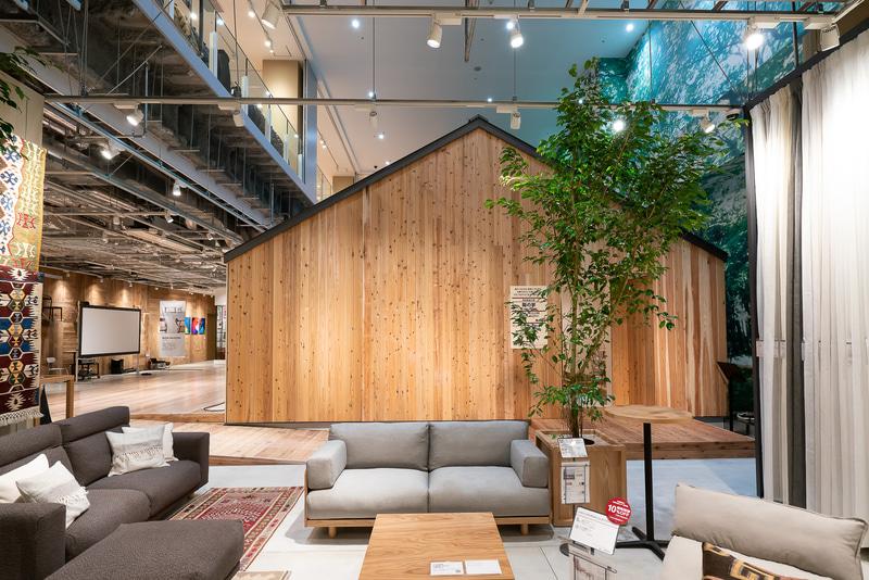 切妻屋根のオーソドックスな平屋で、木を活かしたモダンなデザイン