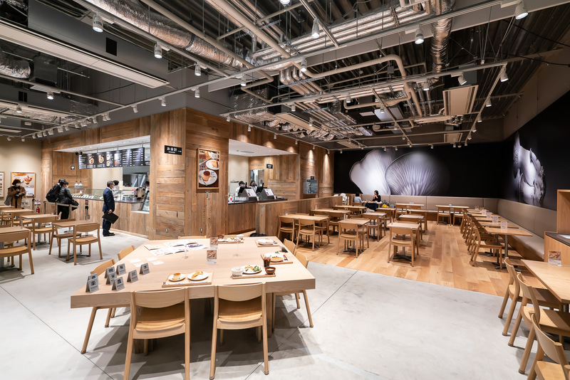 「Cafe&Meal MUJI」店内