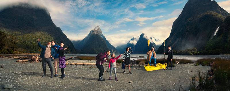 ニュージーランド航空の機内安全ビデオ「8番目の不思議」