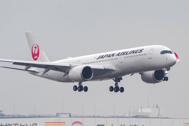 JALのA350 7号機が羽田空港に到着した(写真提供:日本航空)