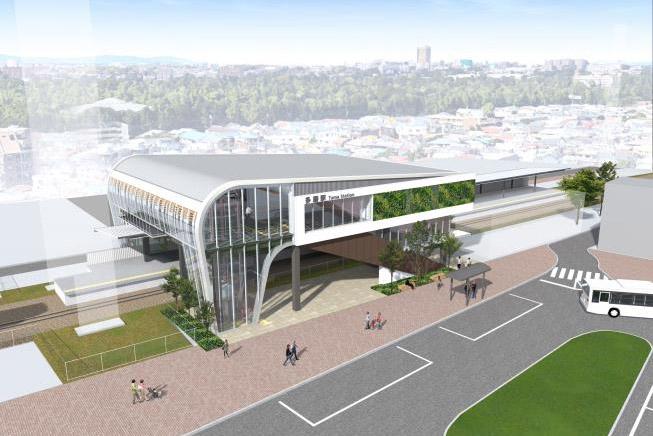 西武鉄道は多磨駅の橋上駅舎、自由通路を12月23日に供用開始する