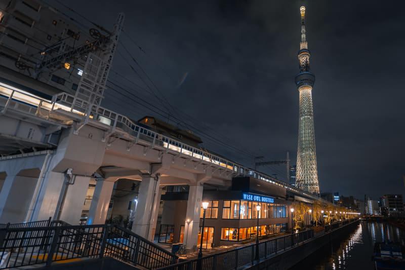 ワイズアウルは「WISE OWL HOSTELS RIVER TOKYO」を2021年1月9日に開業する。