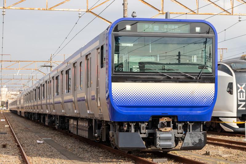 横須賀・総武快速線に新しく導入されるE235系