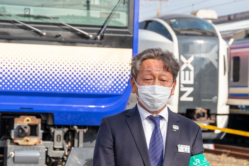 東日本旅客鉄道株式会社 横浜支社 運輸部 車両課長 井上春彦氏