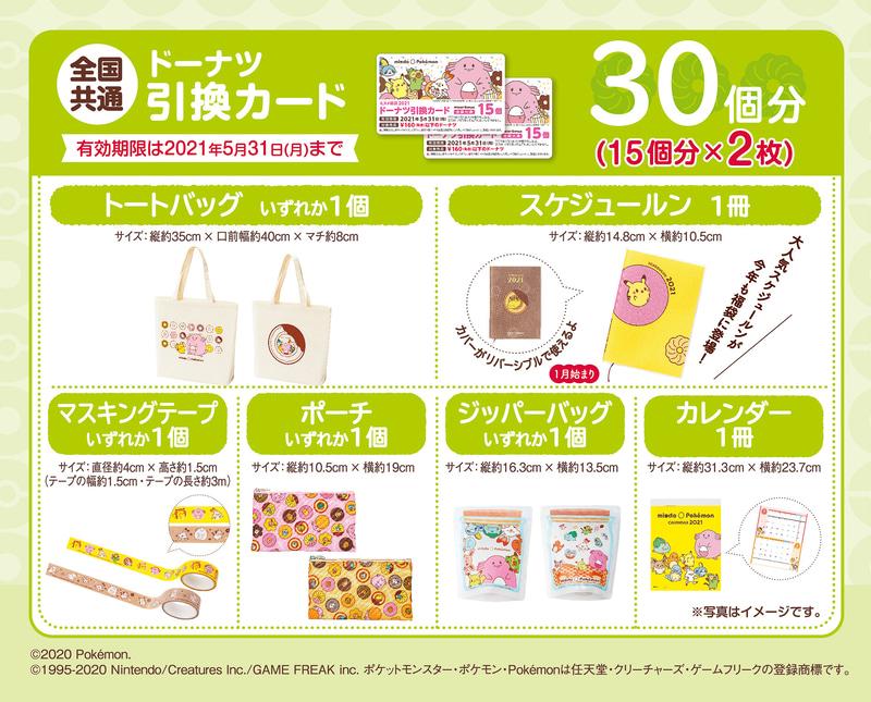 ミスド福袋(3300円)