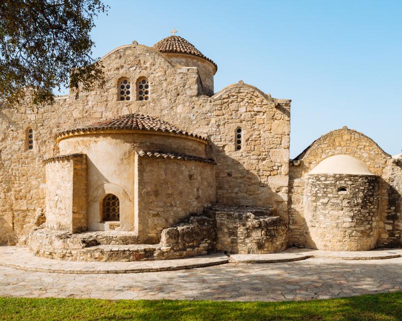 初期キリスト教のモザイクイコンが美しい「アンゲロ・クティスティ教会」(場所:ラルナカ)