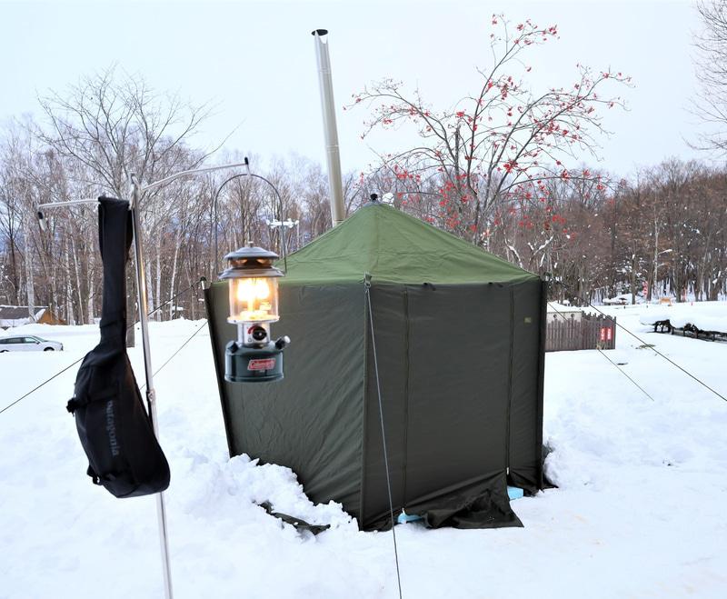「新富良野プリンスホテル」がプライベートテントサウナを実施する