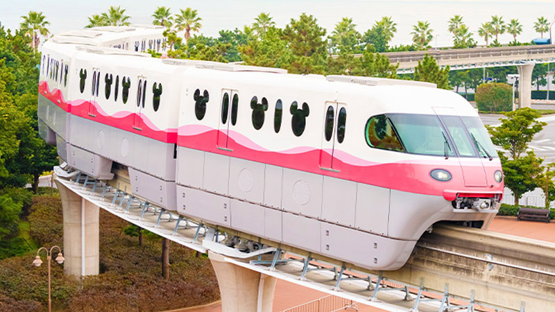 ディズニーリゾートラインは新型車両「リゾートライナー(Type-C)」の2編成目を1月23日に運行開始する