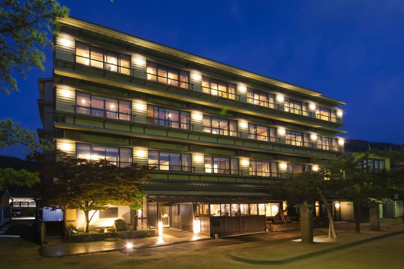 宮島の老舗旅館「錦水館」