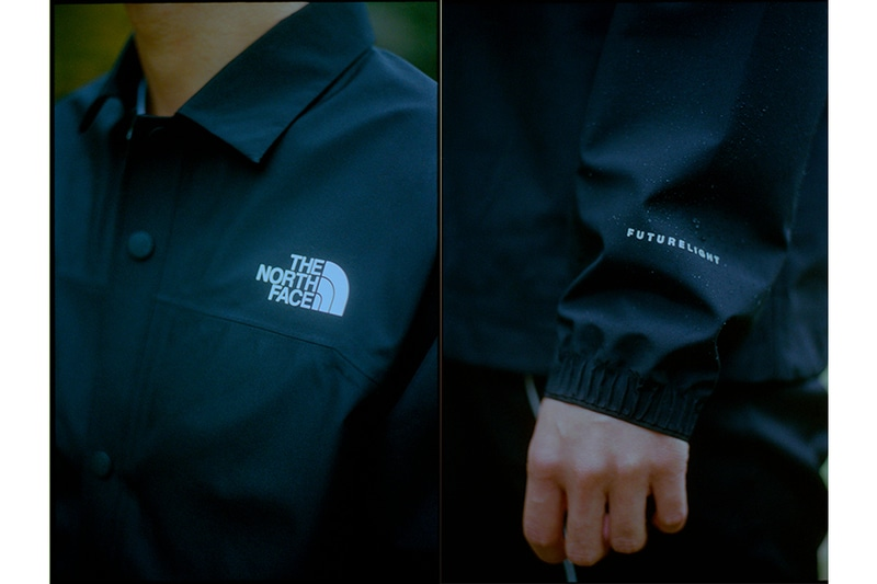 「THE NORTH FACE」から独自開発の防水透湿素材「FUTURELIGHT」を使用した「FL Coach Jacket」