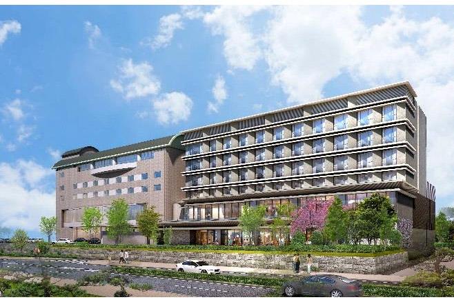 ホテル一畑は5月16日にリニューアルオープンする