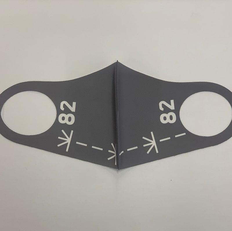 「ひゅうが」モチーフのマスク