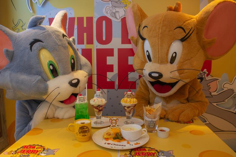 「トムとジェリー」コラボカフェを東京・大阪・名古屋・沖縄でオープン