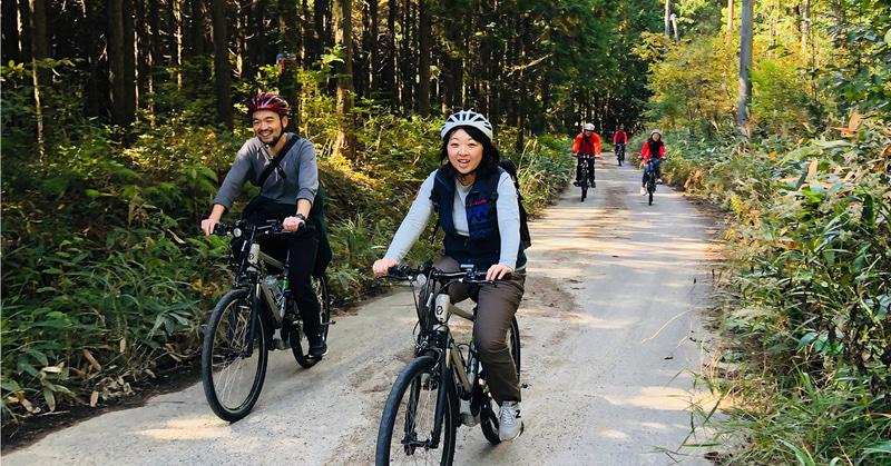 e-bikeガイドツアー